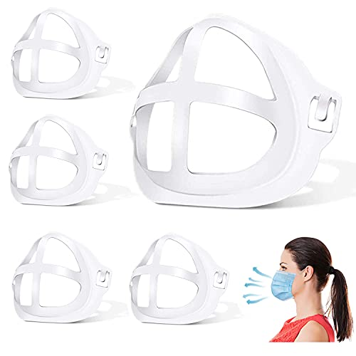 3D Mask Bracket - Oceantree Protect Lipstick Lips - Internal Support Holder Frame Nose Breathing smoothly - DIY Face Mask Accessories(5Pcs) (Large-Adult)