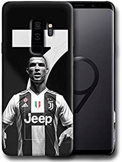 Hard Case Cover with Ronaldo Cristiano, CR7, Professional Football Player Design Compatible with Samsung Galaxy S9 Plus (ronal5)