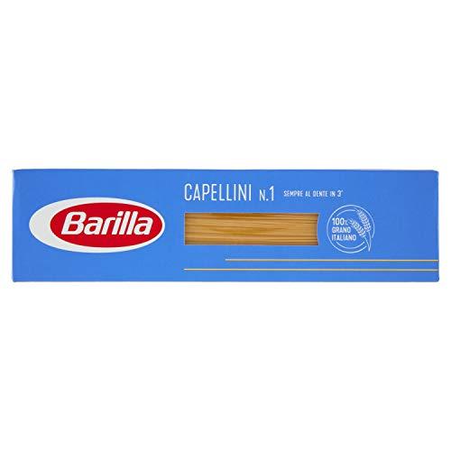 BARILLA I Classici Capellini N.1 500 Grammi Cottura 3 Minuti Pasta Made In Italy