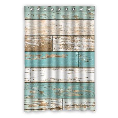 Dalliy Brauch vintage holz Wasserdicht Polyester Shower Curtain Duschvorhang 120cm x 183cm