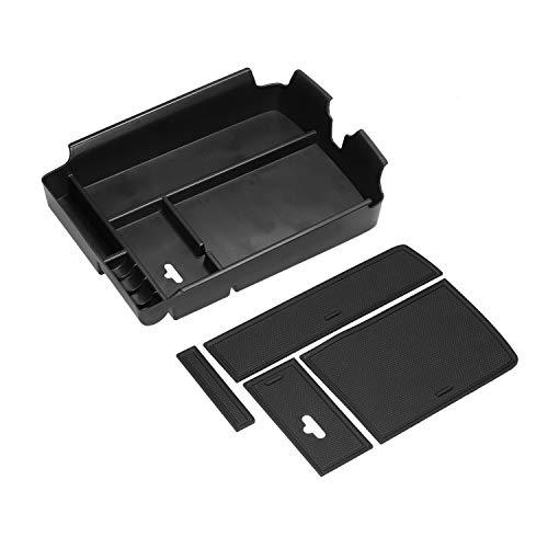 SYJY-SHOP Mittelkonsole Aufbewahrungsbox Organizer Fach nur for Atlas 2016-2019 Car Storage Box Assesories Münz- und Sonnenbrillen Inhaber