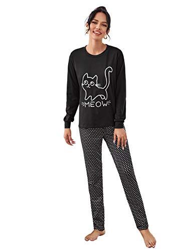 Pijama Gato Mujer  marca DIDK