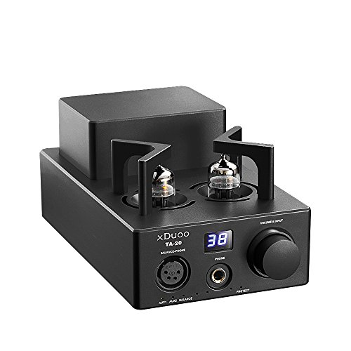 XDUOO TA-20 High Performance Balanced Tube Headphone Amplifier Power Amplifier (Black)