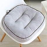 Seat cushion Wicker Stuhlkissen,quadratische Verdicken Sie Höhe Baumwolle Stuhl Pads Mit Handgurt...