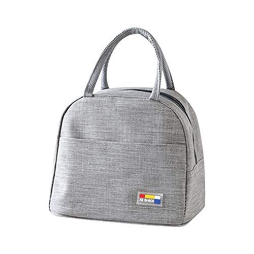 HUIJUAN Bolsa térmica reutilizable para el almuerzo, bolsa de la compra, bolsa de almuerzo, bolsa de almacenamiento para picnic, playa en el trabajo de la oficina