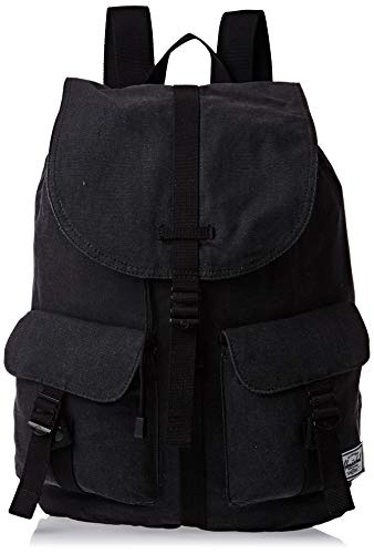 Herschel Dawson Backpack, Deep Teal/Tan Synthetic Leather, Classic 20.5L