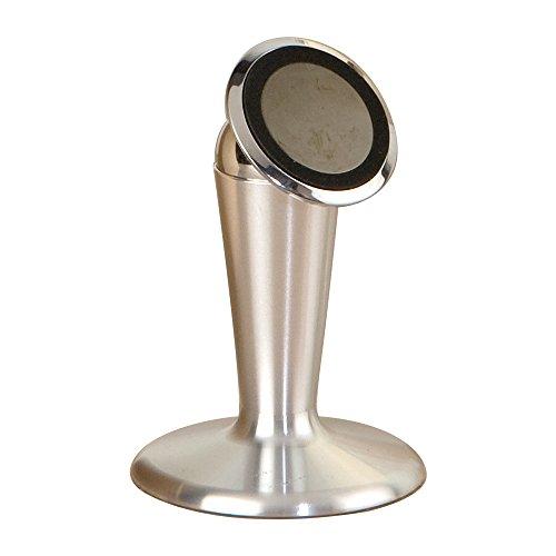 Mopec Support magnétique pour Smartphones et tablettes, métal, Argent, 10 x 10 x 7 cm