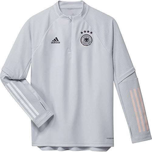 adidas Alemania Temporada 2020/21 Sudadera Entrenamiento, Unisex, gricla, 152