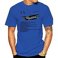 2020 Fashion T-shirt Graphic For Men An-2 Russischer Doppeldecker Flugzeug Anna Technische Date #19961make