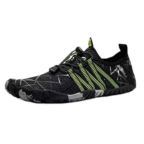 DoGeek Escarpines Antideslizante Zapato de Agua Zapatos de Playa Escarpines...