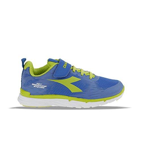 Diadora Nj-303RS Jr Zapato de Running Suave–Unisex niño Size: 31 1/2 IT Bambino