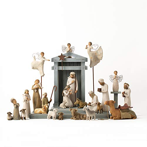 Willow Tree Krippenfigur Premier Plus Elevated Angels, 25-teilig
