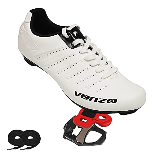 Venzo Road Cycling Shoes with Laces
