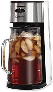 White/Stainless Ice Tea Maker