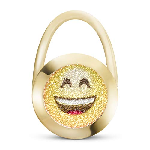 taeshy Smiley Original Handtaschenhalter Style Charms Crystals by Swarovski® - Handmade in Germany.
