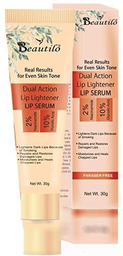 Beautilo Dual Action Lip Lightener Lip Serum/Balm/Lightener/Moisturizer For Lip Lightening/Brightening/Toning/Moisturizing,30g