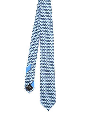 Z ZEGNA Luxury Fashion Herren Z8W081L7G Hellblau Seide Krawatte | Herbst Winter 20