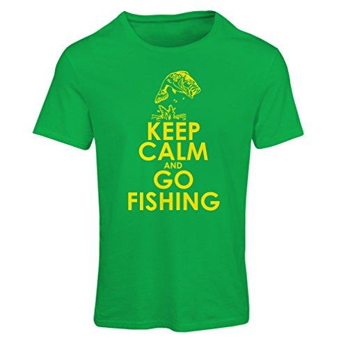 Camiseta Mujer Ropa de Pesca, Regalo Gracioso Pescador, Citas de Humor (Small Verde