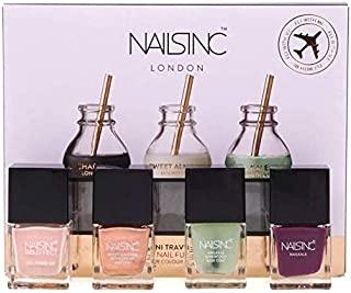 Nails Inc Superfood Nail Fuel Collection 4 x 5ml Imperfect Boxes