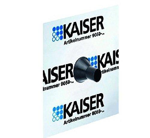 Kaiser Luftdichte Muffe für Rohr Ø 15-22mm
