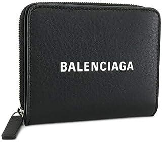 バレンシアガ BALENCIAGA ユニセックス 2つ折財布 EVERYDAY 551933 DLQ4N 1000 ブラック 1920aw [並行輸入品]