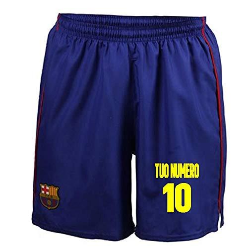 FCB Pantaloncini Barcellona Replica Ufficiale Autorizzata PS 25951-4 Anni