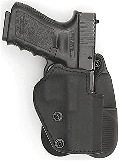Front Line Open-Top Kydex Paddle Holster (Black)