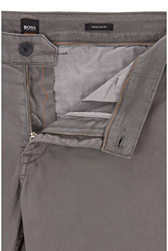 BOSS BOSS Herren Schino-Regular D Regular-Fit Casual-Chino aus angerauter Stretch-Baumwolle