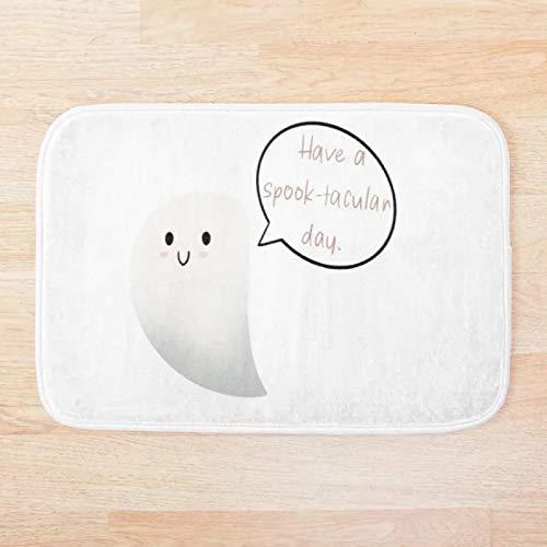 Tapis de bain Paillasson Have a spook tacular day tapis de couloir tapis de sol de bain antidérapant animaux tapis d