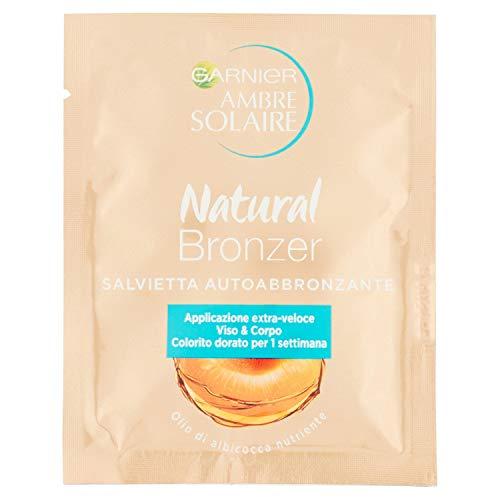 Garnier Natural Bronzer Salvietta Autoabbronzante Olio Di Albicocca Nutriente 5.6ml