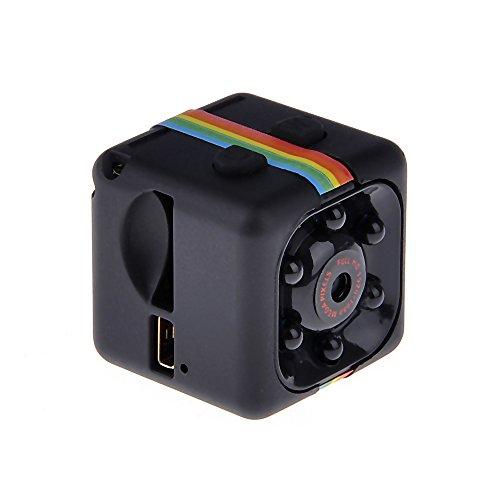 MM Camera de Vision Nocturne 1080p HD Camera de Video Camera D'enregistrement Noir