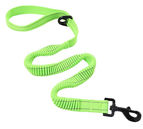 Yukowgu Bungee Rope Dog Leash, Stretch to 2.8-5 Foot, Safety and Comfortable Training Lead for Dogs