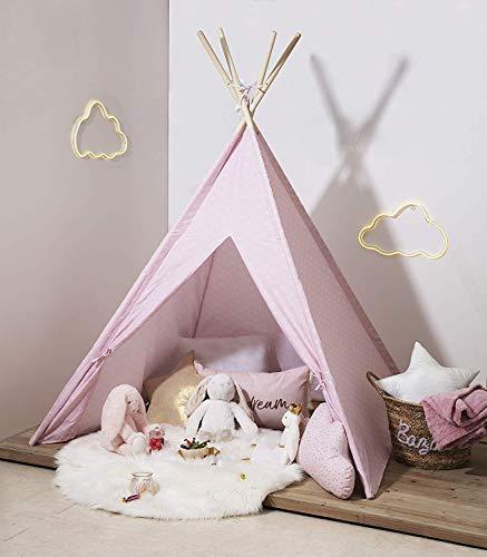WEB2O - TIPI para niños (160 cm), color rosa escandinavo