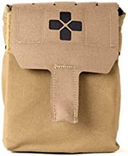 Blue Force Gear Trauma Kit Now with Helium Whisper Backing (Coyote Brown)