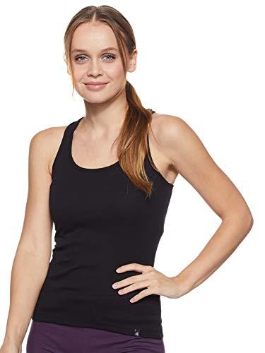 Jockey Women's Cotton Tank Top (1467-0110-BLACK-L)