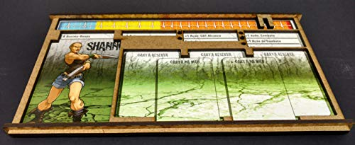 Kit Dashboard para Zombicide (6 Unidades) - Bucaneiros Jogos