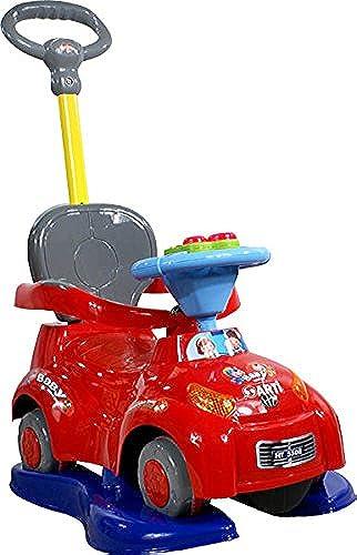 Fahrzeug Kindfahrzeug ARTI 5508C 3w1 Music Safety Car rot