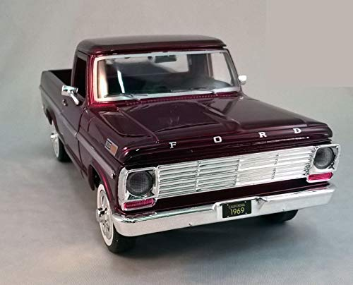 Miniatura Ford F-100 Pick-Up 1969 Motormax 1/24