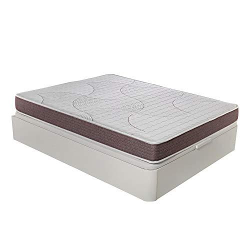 ROYAL SLEEP Colchón viscoelástico 80x190 de máxima Calidad, Confort, adaptabilidad y firmeza Alta, Altura 19cm - Colchones Dormant