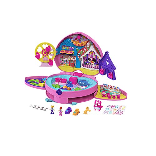Polly Pocket Theme Park Backpack is a popular toy for girls