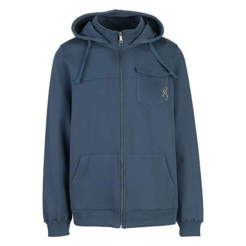 Browning Herren Blake Sweatshirt Baumwolle, leicht, Jacke, Midnight Navy (Marineblau), XX-Large