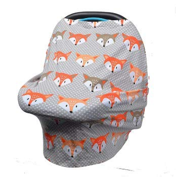 Car Seat, Nursing Cover, Super Stretchy Cozy, Privacy Cover, Protect Your Baby, Convertible Multi Use 6 in 1