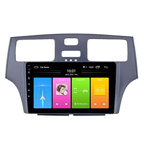 Navegador GPS Coche, Multifunción GPS para Coches con Guía De Voz, 10.4 Pulgadas Localizador GPS para Coche Compatible con Lexus Toyota Y Ford Focus, Interconexión