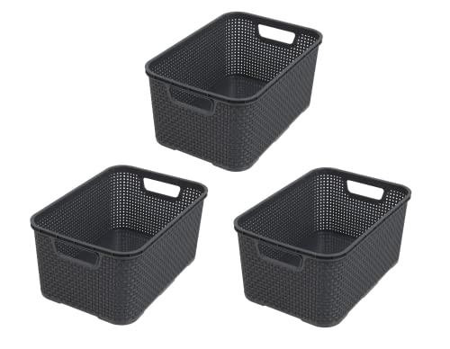BranQ - Home essential -   Kunststoff Korb in