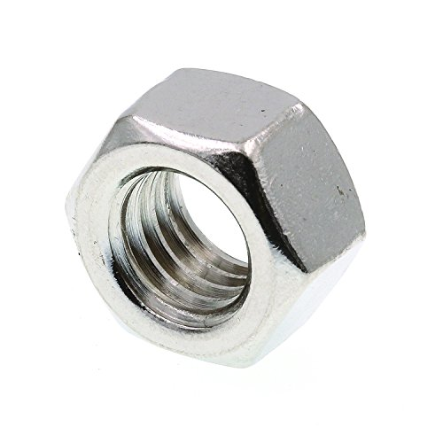 Prime-Line 9073451 Finished Hex Nuts A563 Grade A Zinc Plated Steel 3//8 in.-16 100-Pack