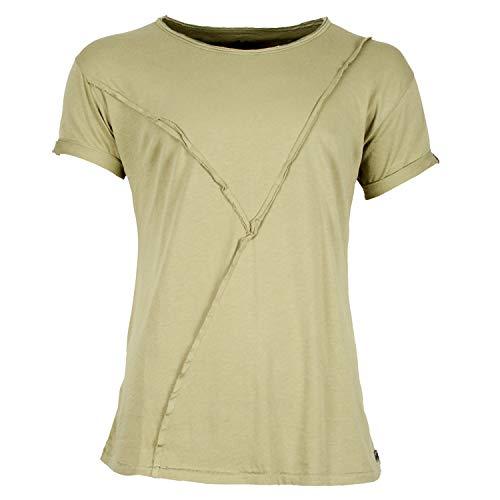 Boom Bap Herren T-Shirt Busted-Grün-XL