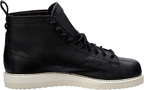 adidas Damen Superstar Boot W Hohe Sneaker, Schwarz Negbás Negbás Casbla 000, 38 EU