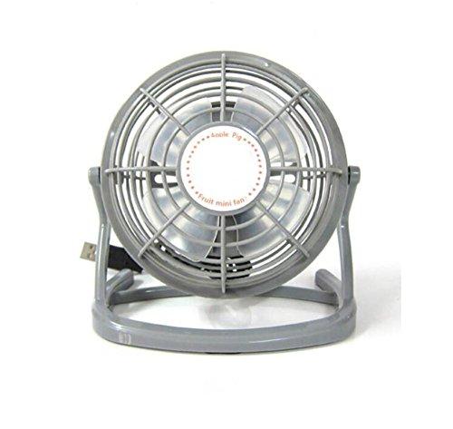Fan/ Ventola da Ventilatore di raffreddamento silenzioso portatile di 2 velocità del ventilatore personale del USB Mini Reattanza 360 gradi