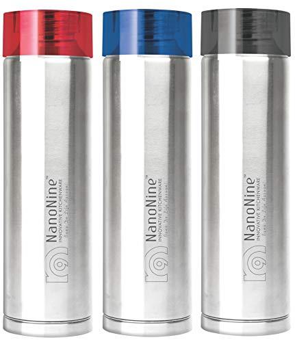 NanoNine SPLASH Stainless Steel Water Bottle  1 Litre