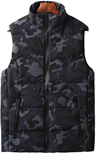 CHNDR Heren verwarmingsvest/elektrisch vest voor het opwarmen van vest, wasbaar, met USB-kabel – voor de winter, werk en camping, reizen, ski, C-3XL